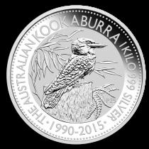 Kookaburra Zilver 1 kilogram 2015 | Muntzijde | goud999