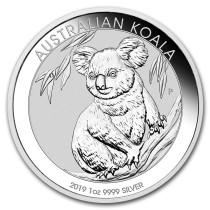 Koala Zilver 1 Ounce 2019   Muntzijde   goud999