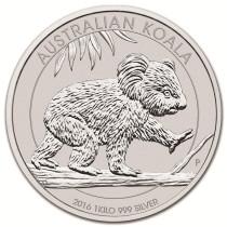 Koala Zilver 1 Kilogram 2016 | Muntzijde | goud999