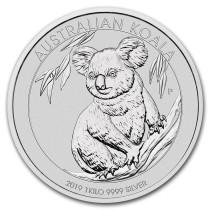Koala Zilver 1 Kilogram 2019| Muntzijde | goud999