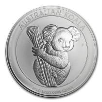 Koala Zilver 1 Kilogram 2020 Muntzijde | goud999