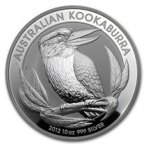 Kookaburra Zilver 10 Ounce 2012 | Muntzijde | Goud999