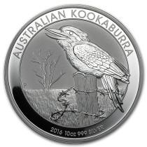 Kookaburra Zilver 10 Ounce 2016 | Muntzijde | goud999
