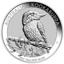 Kookaburra Zilver 10 Ounce 2021| Hoofdzijde | goud999