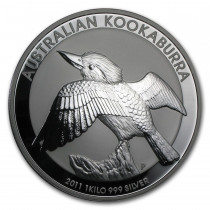 Kookaburra Zilver 1 Kilogram 2011 | Muntzijde | goud999