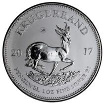 Krugerrand Zilver 1 Ounce 2017   Muntzijde   goud999