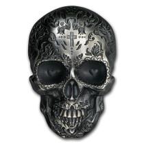 La Catrina Skull Hoofdzijde - Goud999
