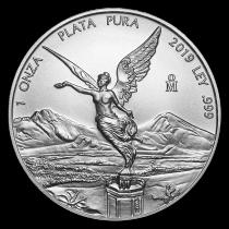 Mexicaanse Libertad Zilver 1 Ounce 2019   Hoofd   goud999