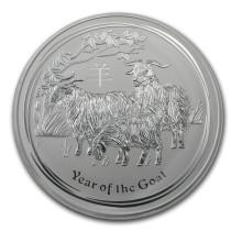 Lunar II Goat Zilver 1 kilogram 2015 | Muntzijde | goud999