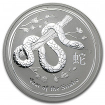 Lunar II Snake Zilver 1 ounce 2013   Muntzijde   goud999