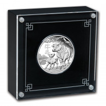 Lunar III Ox Zilver 1 Ounce 2021 PROOF | goud999 | display