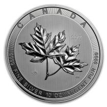 Magnificent Maple Leaves Zilver 10 Ounce 2017 | Muntzijde | goud999