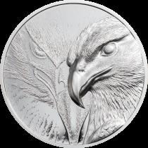 Majestic Eagle Zilver 1 Ounce 2020   Muntzijde   Goud999