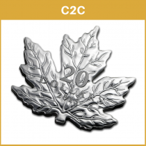 The Canadian Maple Leaf Zilver 2015 PROOF - C2C