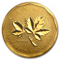 Maple Leaf Goud 1 Ounce 2008   Hoofdzijde   goud999