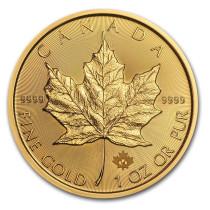 Maple Leaf Goud 1 Ounce Diverse Jaargangen | Muntzijde | goud999
