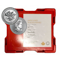 Superleaf Zilver 1 Ounce 2017 | Monsterbox 1 | goud999