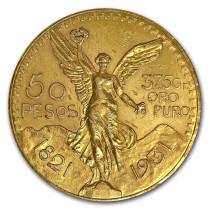 Mexican 50 Peso Goud | Hoofdzijde | goud999