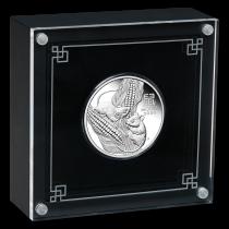 Lunar III Mouse Zilver 1 Ounce 2020 PROOF | goud999 | Presentatie
