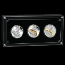Lunar III Mouse gekleurd Set | zilver | goud999