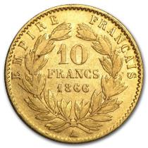 Napoleon Goud 20 Frank | Muntzijde | goud999