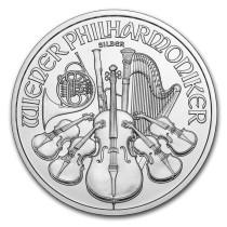 Philharmoniker zilver 1 ounce diverse jaren   Muntzijde   goud999