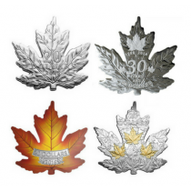 The Canadian Maple Leaf Zilver Set PROOF