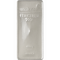 Zilverbaar 5 Kilogram Umicore - incl 21% BTW | goud999