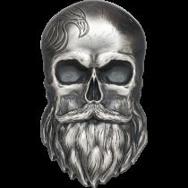 Biker Skull | Hoofdzijde | Goud999
