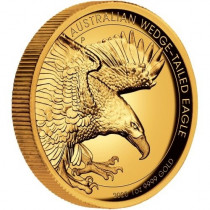 Wedge-tailed Eagle 2020 1 Ounce High relief | Muntzijde | goud999