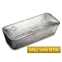 Zilver VRIJ VAN BTW - per 100 ounce | Baar | Goud999