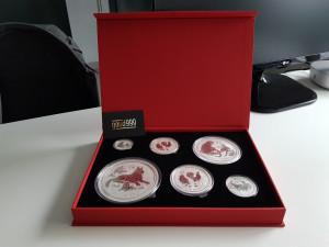 Muntcassette Lunar Series II 0,5 Oz - 1 Kilogram | goud999