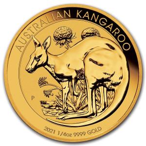 Kangaroo Goud 1/4 Ounce 202021 | Hoofdzijde | goud999