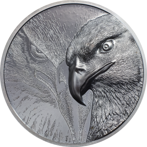 Majestic Eagle Silver 2 Ounce Black PROOF | Goud999
