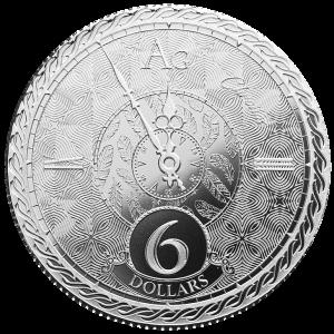Chronos Tokelau Zilver 1 Ounce 2020   Goud999
