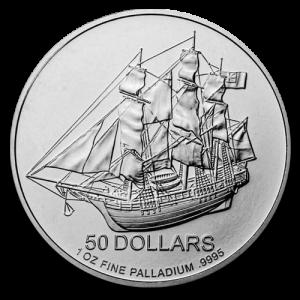 Cook Islands Palladium 1 Ounce Divers | Muntzijde | goud999