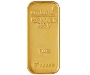 Goudbaar LBMA 1 Kilogram 999,9/1000 Umicore | goud999