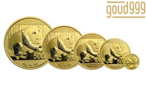 Panda Serie Goud 57 Gram    Muntzijde   goud999