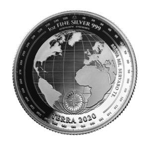Terra Tokelau Zilver 1 Ounce 2020