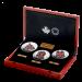 The Haida Series - Zilver 5 Ounce PROOF met ENAMEL | Box Open | goud999