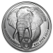 Big 5 Series - Elephant Zilver 1 Ounce 2019 B.U.