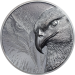 Majestic Eagle Silver 2 Ounce Black PROOF   Goud999