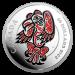 The Haida Series - The Eagle Zilver 5 Ounce PROOF met ENAMEL | Munzijde | goud999