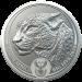Big 5 Series - Leopard Zilver 1 Ounce 2020 B.U.
