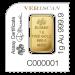 Goudbaar FORTUNA (25 x 1 gram) | Individueel AK | goud999