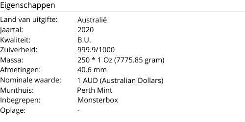 Monsterbox Kangaroo 2020